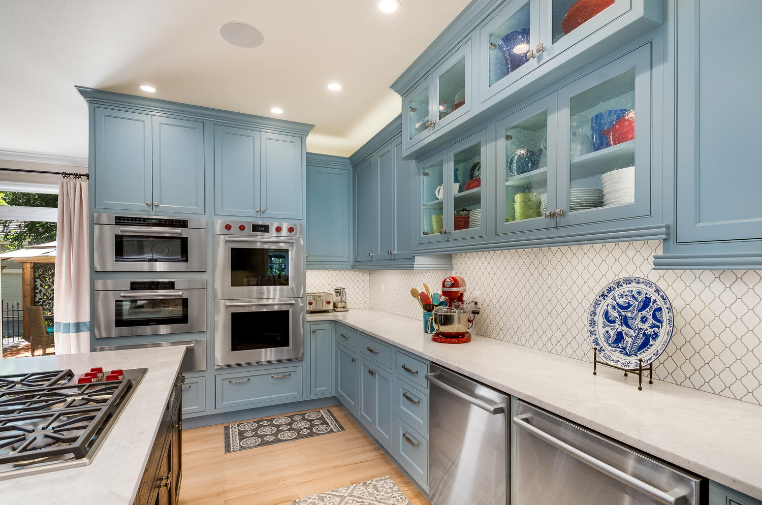 Traditional in Color Kitchen